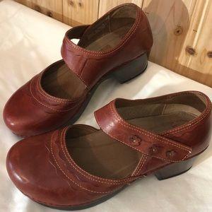 Dansko Mary Jane Velcro Clogs